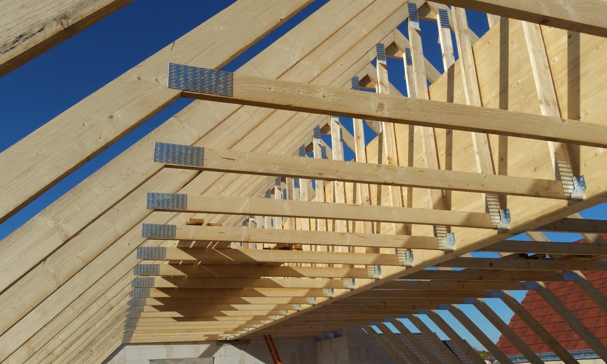 construction maison passive charpente